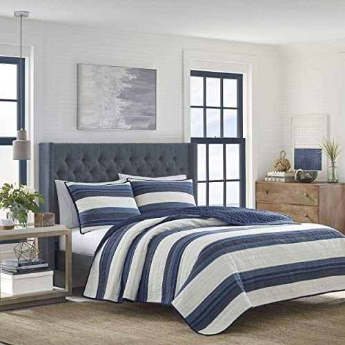 Nautica Briars Quilt, Twin, Navy