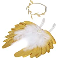 Slibrat Alas de plumas de ángel Bebé deja