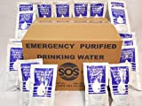 Emergency Drinking Water 96 Packets case 4.227 Oz. Each.