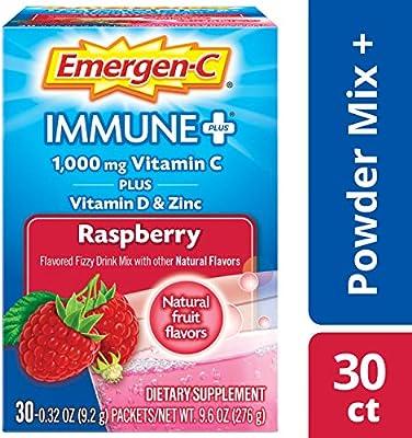 Amazon.com: emergen-c + Sistema de Apoyo Inmunológico ...