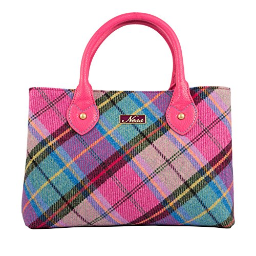 Ness, Borsa tote donna Pink, Turquoise
