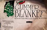 Soft Snow Iridescent Glimmer Blanket, 1'' x ''15
