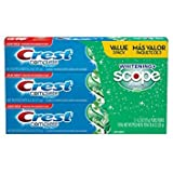 Crest Complete Whitening Plus Scope Toothpaste - Minty Fresh, Net Wt. 6.2 oz(175 g) (Pack of 3) - 5 Box