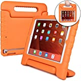 Cooper Dynamo [RUGGED KIDS CASE] Protective Case for iPad Air 1 | Child Proof Cover with Stand, Handle, Screen Protector | A1474 A1475 A1476 (Orange)