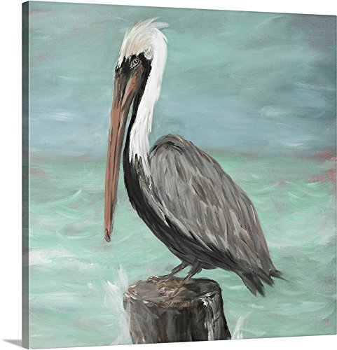 Julie DeRice Premium Thick-Wrap Canvas Wall Art Print entitled Pelican Way I 16