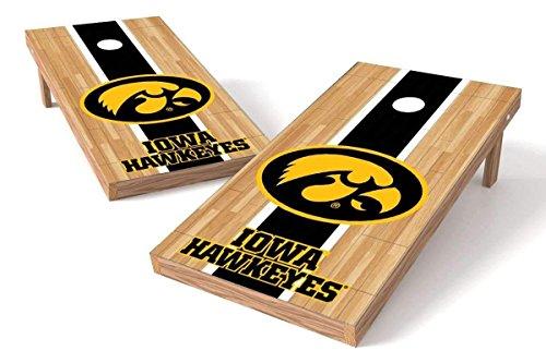 PROLINE NCAA College 2' x 4' Iowa Hawkeyes Cornhole Board Set - Court Iowa Bean Bag