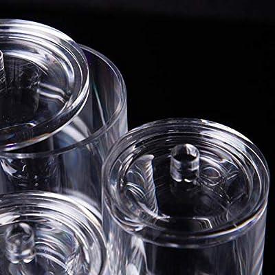 Plastico Cilindro Transparente Kosmetex Caja Maquillaje ...