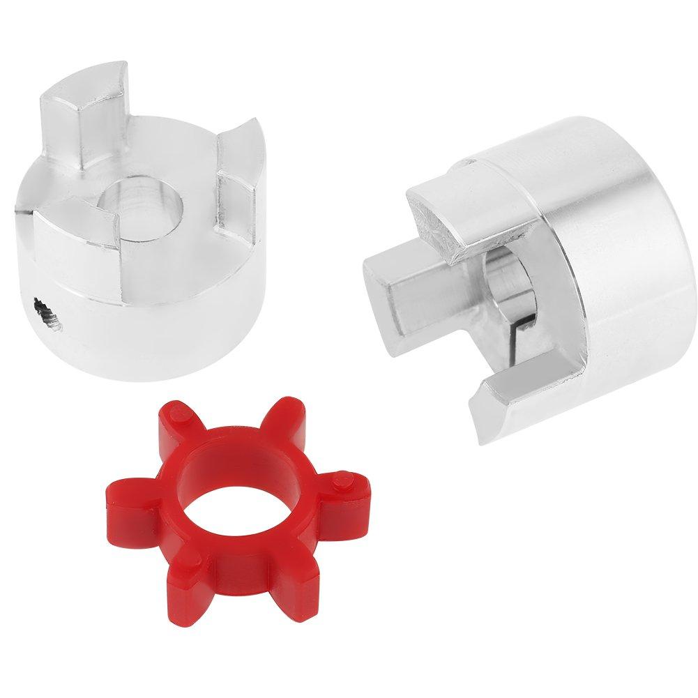 Arbre de couplage prune alliage daluminium de haute r/ésistance connecteur de coupleur de moteur pas /à pas /à commande num/érique OD30mm x L40mm daraign/ée