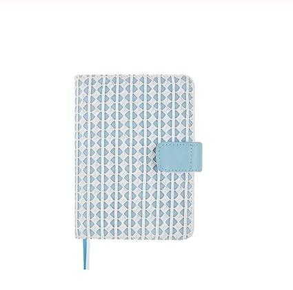 A6 Planner Libro de tela Cuaderno de viaje Diario DIY Diario ...