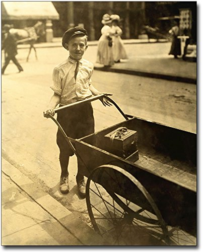 The McMahan Photo Art Gallery & Archive Child Labor Lewis Hine Cincinnati, Ohio 30x40 Silver Halide Photo Print