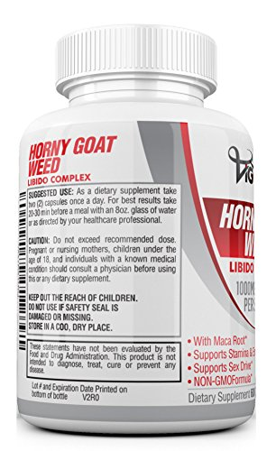 Horny goat weed safety