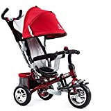 Baianju Children's Tricycle Trolley Stroller Stroller Bicycle Three-Wheeled Bicycle Cartoon