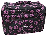 Wahl Professional Animal Paw Print Travel Tote Bag Berry #97764-400