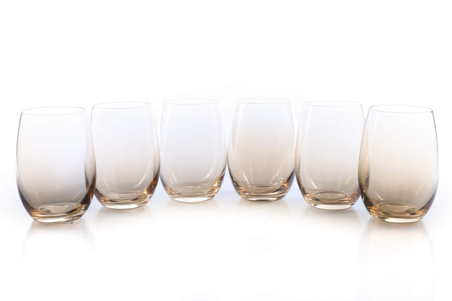 MIUSITE Essential Wine Water Drinking Highball Glasses Set of 8-500ml(17.6oz)