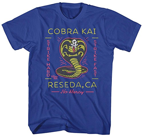 Karate Kid- Kai Reseda, Ca T-Shirt - Blau