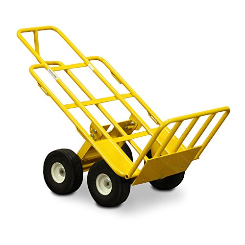 American Cart & Equipment Multi-Mover with Fold-Down Rear Wheels and Foot Plate, 750-Pound Capacity