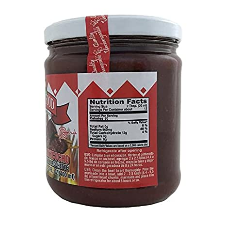 Amazon.com : Peru Food Aderezo Anticucho Marinade for Peruvian Brochette 13.5 Oz. : Gourmet Marinades : Grocery & Gourmet Food