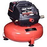 Goplus Oil-Free Air Pancake Compressor Portable Quiet (3 Gallon 100 PSI 0.5HP Compressor)