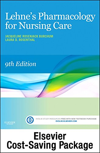 Nursing Package - Lehne's Pharmacology for Nursing Care - Text and Elsevier Adaptive Learning Package