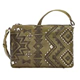 American West Women's Nomad Heart Purse Olive One Size