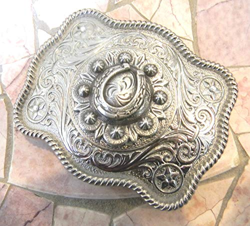 - Horseshoe Belt Buckle, Lucky Charms Horse Lover Western Gift