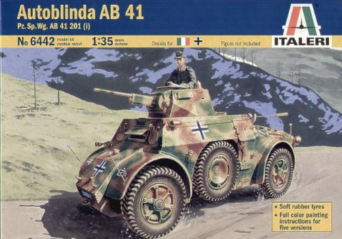 Italeri 6442S - Autoblinda AB 41, Pz. Sp.Vg. AB 41 201 (i)