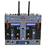 QFX MX-3 Dual Bluetooth Professional DJ Mixer