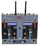 QFX MX-3 Dual Bluetooth Professional DJ Mixer