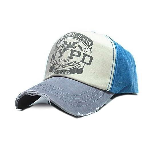 Xuzirui Adjustable Baseball Cap Fitted Hat Casual Cap Gorras 5 Panel Hip Hop Snapback Hats Wash