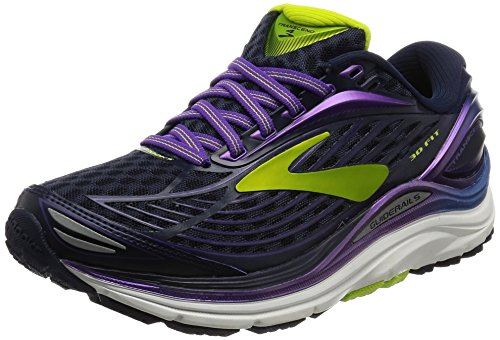 Peacoat Brooks Laufschuhe Transcend Damen Purple 4 gwaaqSP7nO