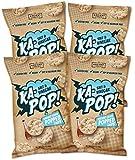 Ka-Pop! Popped Chips, Salt & Vinegar (3.25oz, Pack of 4) - Allergen Friendly, Sorghum, Gluten-Free, Paleo, Non-GMO…