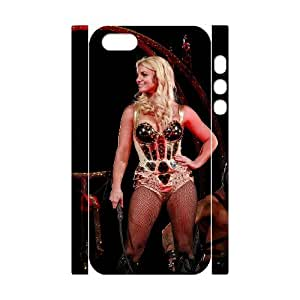 J-LV-F Cell phone Protection Cover 3D Case Britney Spears For Iphone 5,5S