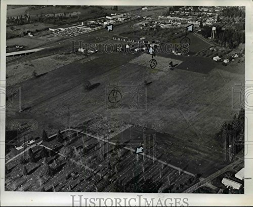1970 Press Photo Aerial view of Washington Square Shopping Center planned - Square Shopping Washington Center