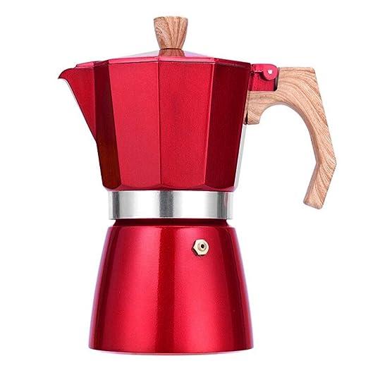 Licyen Cafetera exprés cafetera Moka Tetera Moka Pot Mano de café ...