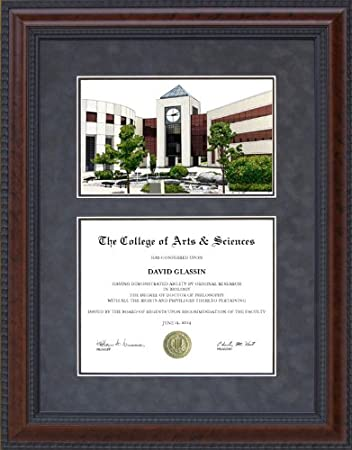 Amazon.com : Diploma Frame with Western Michigan University (WMU ...