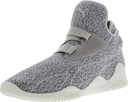 Puma Mannen Mostro Sirsa Elementaire Enkel-high Fashion Sneaker Grijs Violet / Staalgrijs / Puma Wit