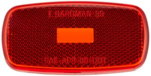 Bargman 31-59-010 Clearance Light #59 - Red, Lens Only