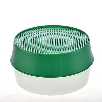 Tamis de jardin en plastique vert pour sol composite et ...