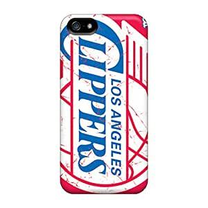 Premium Iphone 5/5s Case - Protective Skin - High Quality For Los Angeles Clippers