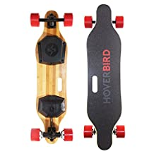HOVERBIRD 2nd Generation Electric Longboard Skateboard 1000W Dual Brushless Hub Motor, 36V4.4AH Battery With Remote Control