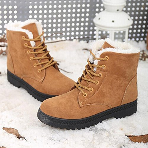 Boots Shoes Ankle Women New Snow Boots Fashion Size Black Shoes Boots Winter Shoes Fashion hott Winter sport Plus Heels 0AEwqg
