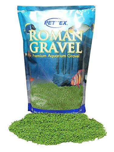 Roman Gravel Lime Green Aquarium Gravel 2kg (Roman Gravel)