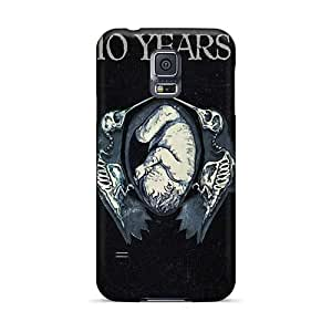 Anti-Scratch Hard Phone Cover For Samsung Galaxy S5 (tFr1262ROjX) Customized Colorful Motorhead Band Pattern