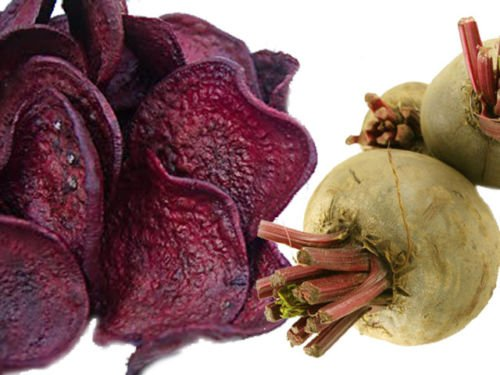 Dried Beetroot Chips, 2.2 lb Pack of 3 by CandyMax (Image #1)