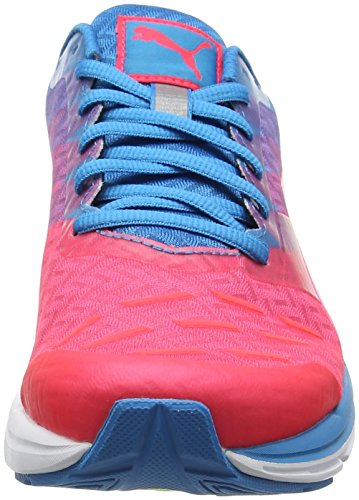 Puma Speed 300 Ignite - Zapatillas de Running Hombre Rosa (Bright Plasma-blue Danube-true Blue 09)