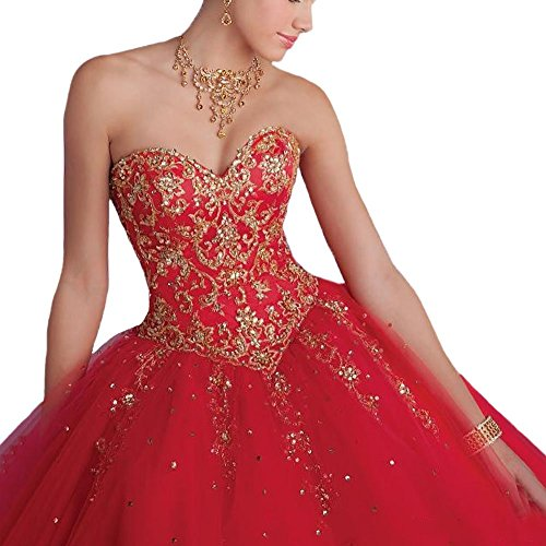 Yellow Sweet Appliques Ball 16 Dresses Quinceanera Mint Damen Kleider Fanciest TOqvwAx8aA