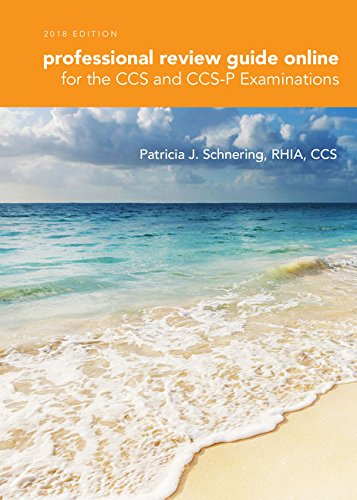 Schnering's Professional Review Guide Online for the CCS/CCS-P Examination, 2018, 2 terms (12 months) Printed Access Card