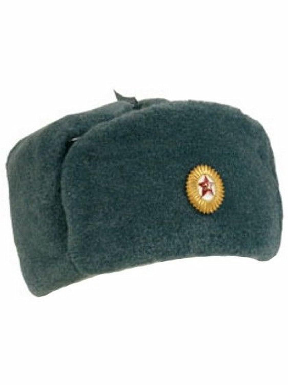 Russische Wintermütze neuwertig mit Abzeichen