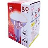 レフランプタイプ LED電球 口金直径26mm/9.8W 電球色 LDR10L-H 9