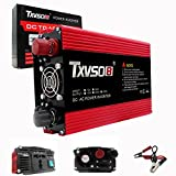 TXVSO8 1500W Power Inverter Dual DC 12V TO AC 110V outlets Car Adapter With USB Charging ports,Power tools